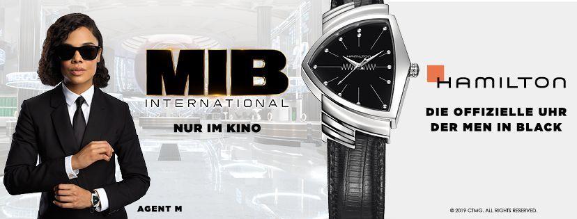 Hamilton Uhren aus Men in Black International